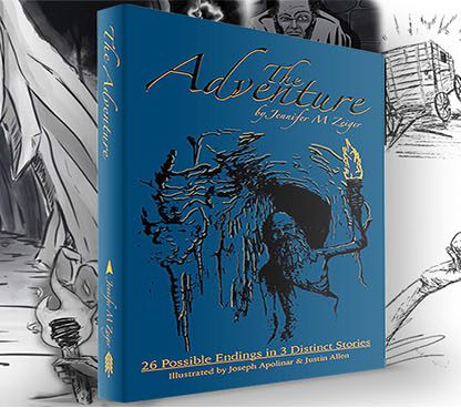 The Adventure Book by Jennifer M Zeiger