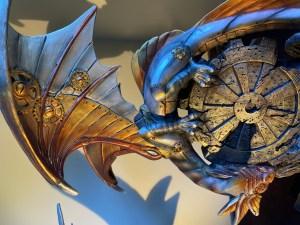 Steampunk Dragon - Adventure book