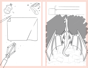 Cover Layout sketch