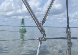 Green Buoy - Sailing